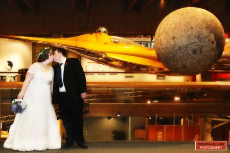 Wedding photos Museum of science