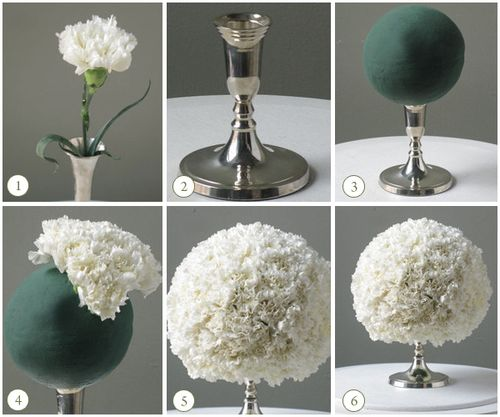 Diy-carnation-centerpieces