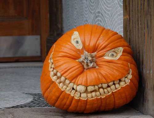 Scary-Halloween-Pumpkin