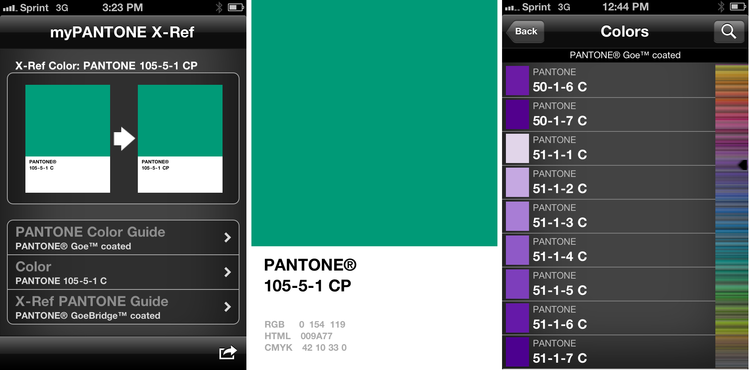 Pantone App