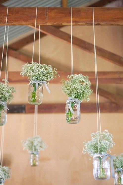 RedLightStudioBlog: DIY Rustic Wedding Ideas Using Baby\'s Breath
