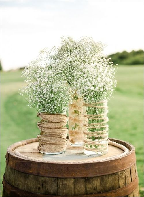 ... Backyard Wedding Ideas. Babys Breath Is Budget Friendly Readily  Available Year Round Long Lasting And It Can Be Used
