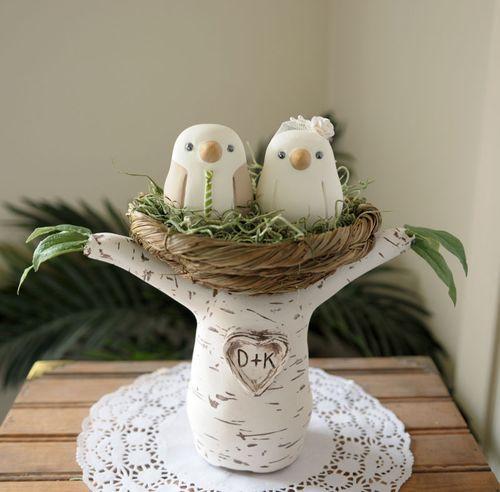 Wedding Cake Toppers Love Bird Tree Wedding Cake Topper